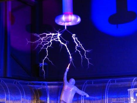 High voltage experiment