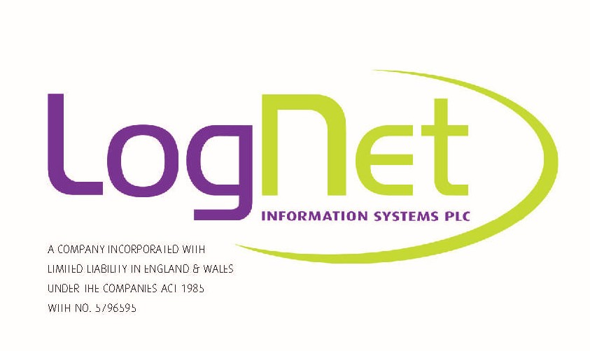 lognet logo purple and green