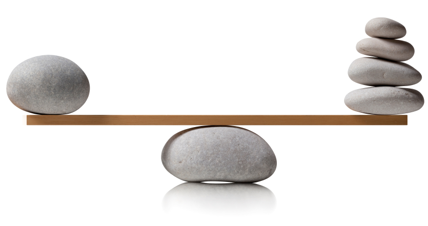 scale balancing stones