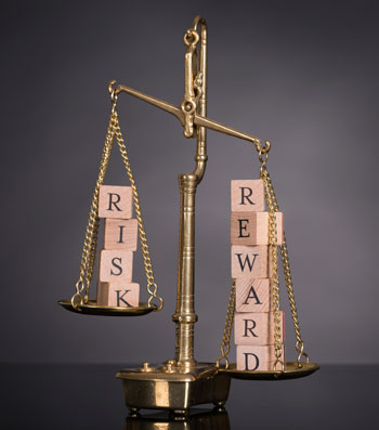reward vs risk scale