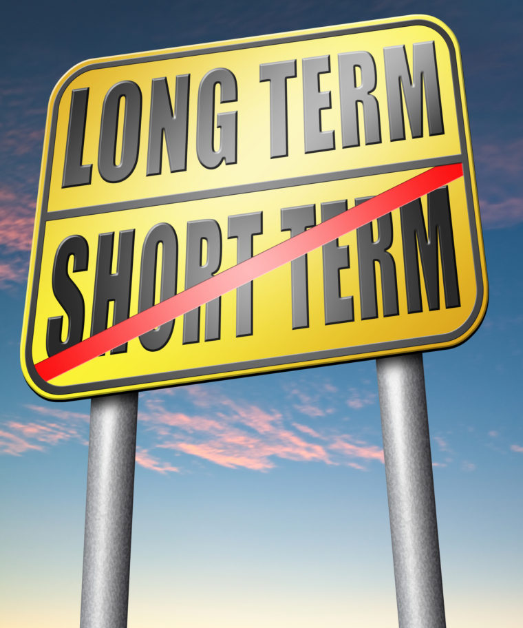 long term over short term